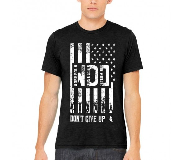 T-shirt Homme America wod Noir - Justhang