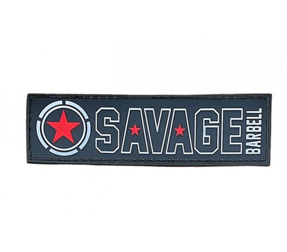 Patch - Banner - Red Star - Savage Barbell