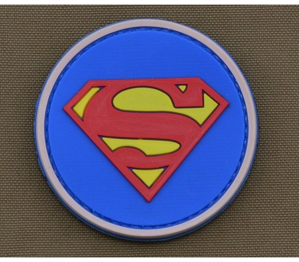 PVC Velcro Patch 'Superman'