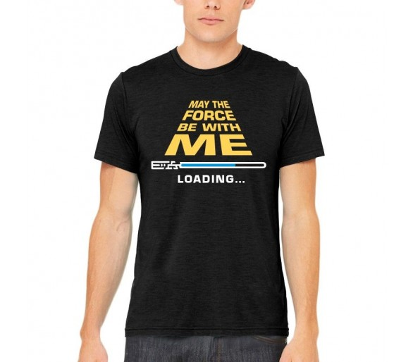 T-shirt Homme May the force - Justhang