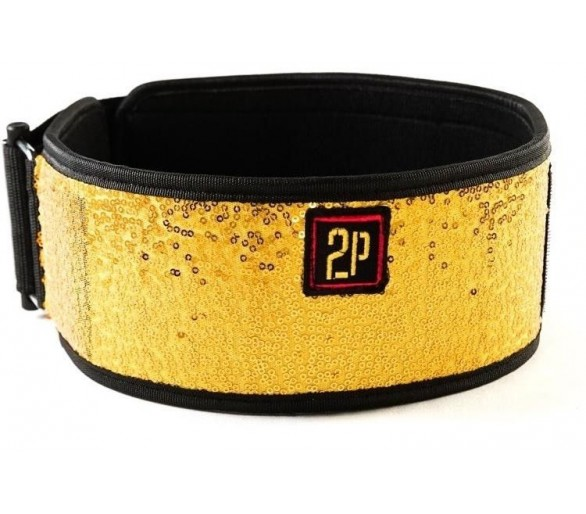 Bling Gold Belt weightlifting 2POOD
