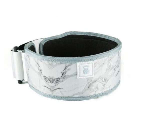 White Marble Straight Belt weightlifting 2POOD