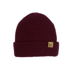 The Dockside Beanie (Maroon) - Lifting Culture