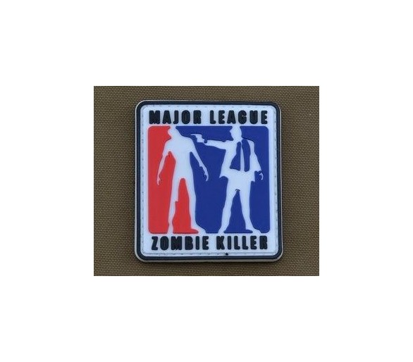 PVC Patch 'Major League Zombie Killer' - Les patchs