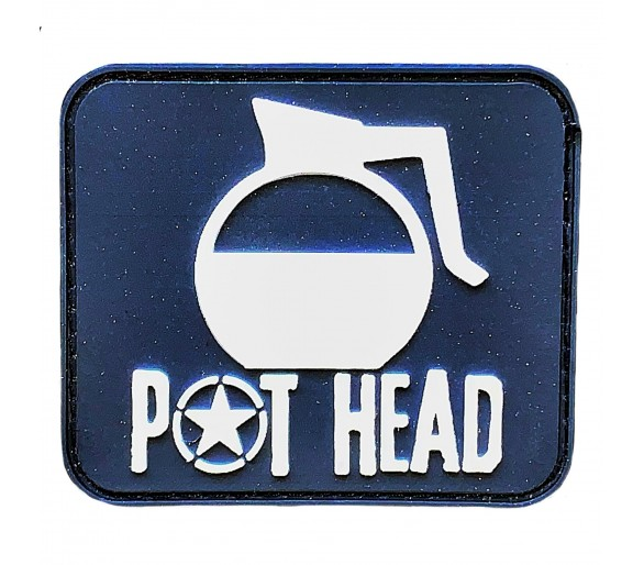 Velcro Patch - Pot Head - Savage Barbell