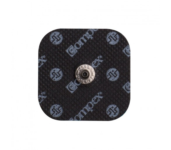 ELECTRODES EASYSNAP™ PERFORMANCE 50 X 50MM x4 Black - Compex