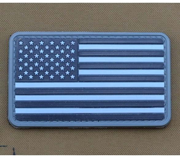 PVC patch 'USA Flag' UCP - Les patchs