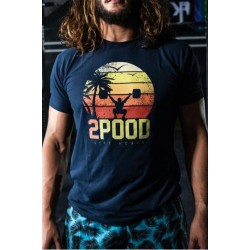 T-shirt Homme Summer Sunset Performance - 2Pood