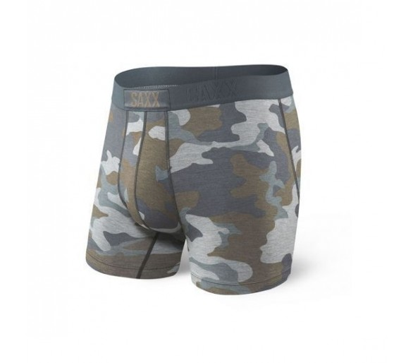 VIBE BOXER BRIEF GREY SUPERSIZE CAMO - SAXX Underwear