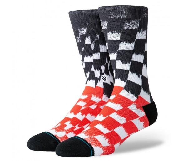 Stance socks Foundation BLUR CHECK (montante)