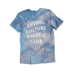 Men's Blue TIE DYE - Lifting Culture