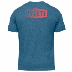 USA Strong Tri-Blend Crew Tee Vintage Red - HYLETE