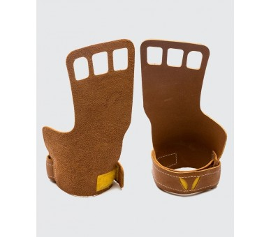 Women - Victory Grips - Grips - 3 Fingers - Leather Victory Grips - 1