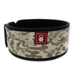 Sandbox Camo Straight Weightlifting Belt - 2POOD