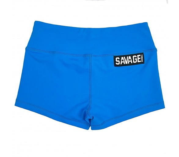 Booty Short Blue Sapphire - Savage Barbell