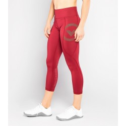 EAu28 Bioceramic™ 7/8th Length Compression Pant Blood Gold - Virus