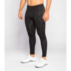 ESio9 Stay Warm Compression Pant Black Silver  - Virus