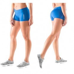 ECO22 STAY COOL DATA TRAINING SHORT Femme Royal Blue - Virus