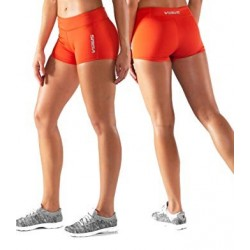ECO22 STAY COOL DATA TRAINING SHORT Femme Orange  - Virus