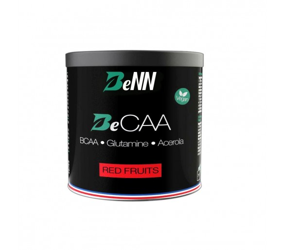 BeCAA (BCAA + Glutamine + Vitamine C) fruits rouges - BeNN