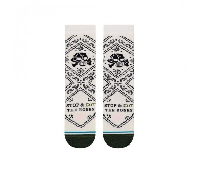 Chaussettes CUT THE ROSES CREW - Stance