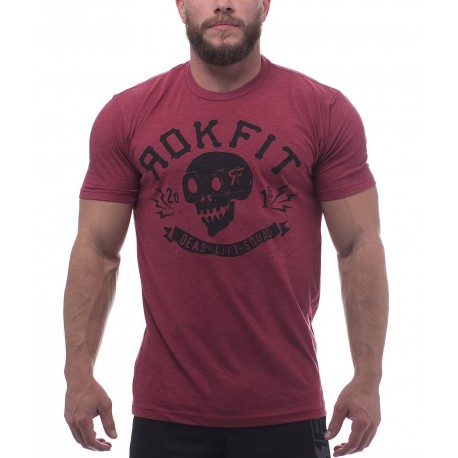 Deadlift Squad T-Shirt Dual-Blend - RokFit idéal
