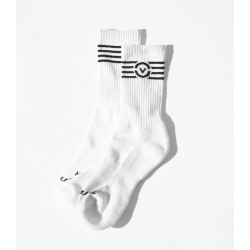 Socks UCO76 (White & Black) - Virus