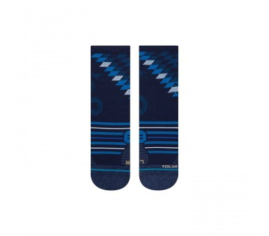 Calcetines Run Slithering Crew (Blue) - Stance