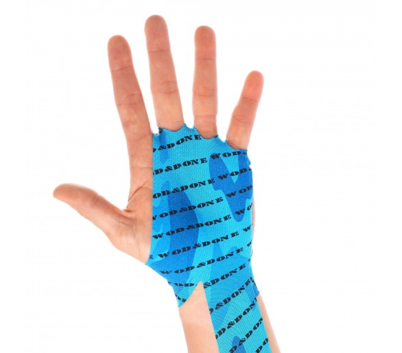 Hand Protection (Blue Camo) - WOD & DONE