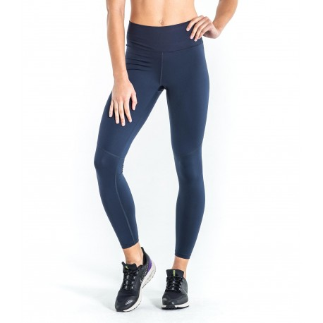 Legging Noble Mid Rise Pant (Berkeley Blue & Hazard Yellow) - Virus