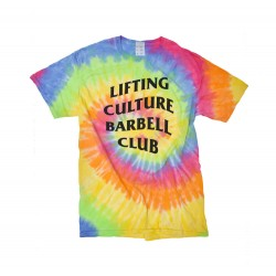 T-shirt Homme Barbell Club Tee (OG Tie-Dye) - Lifting Culture