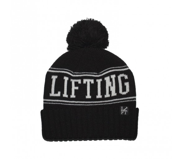 The Capsule Beanie (Black) - Lifting Culture