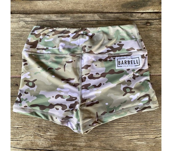 Booty Short Comp Short 2.0 (Multicam) - Barbell Cartel