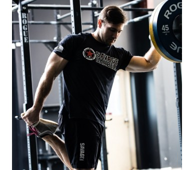 T-Shirt Homme - Bear Complex Savage Barbell - 9