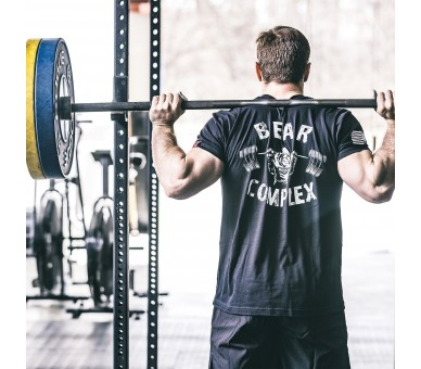 Men's BEAR COMPLEX T-Shirt (Black) - Savage Barbell