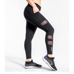 Legging Femme ECo40 Stay Cool ZEPU Mesh  (Noir) - Virus