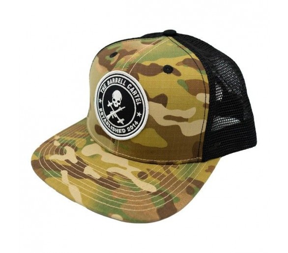 Casquette Jolly Roger Snap back (Multicam) - The Barbell Cartel