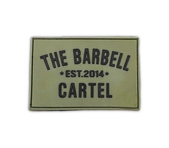 Patch The Barbell Cartel Flag (Silicone) - The Barbell Cartel