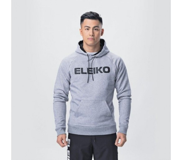 Sweat Homme Dynamic Hood (Steel Grey) - Eleiko