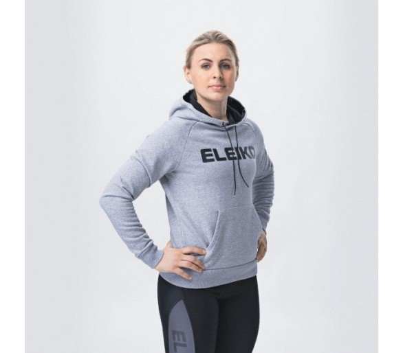 Sweat Femme Dynamic Hood (Steel Grey) - Eleiko