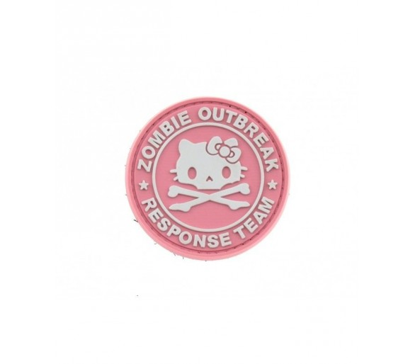 PVC Patch Hello Kitty Zombie Outbreak - Les Patchs