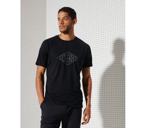 T-shirt Homme Training Graphic - Superdry