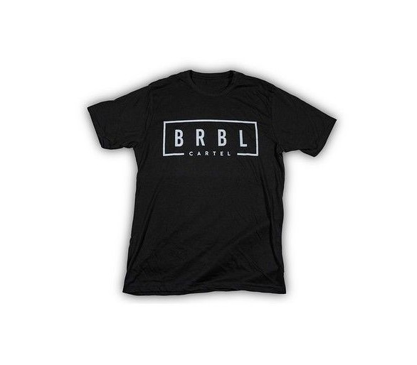 T-shirt BRBL (Nero) - The Barbell Cartel