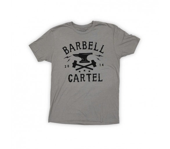 T-shirt Man Anvil - The Barbell Cartel