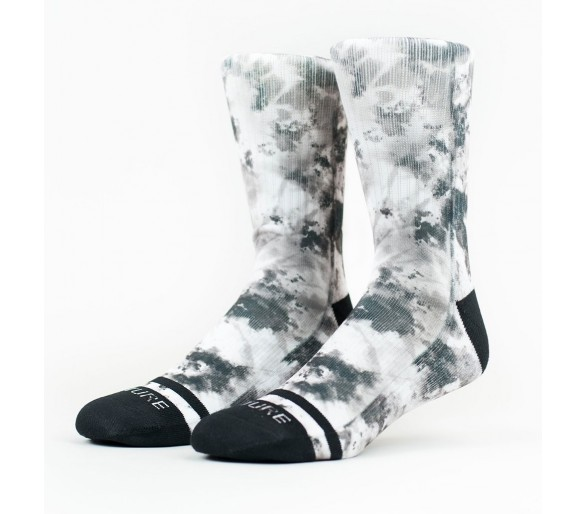 TWISTED TIE DYE Socks - Wodable