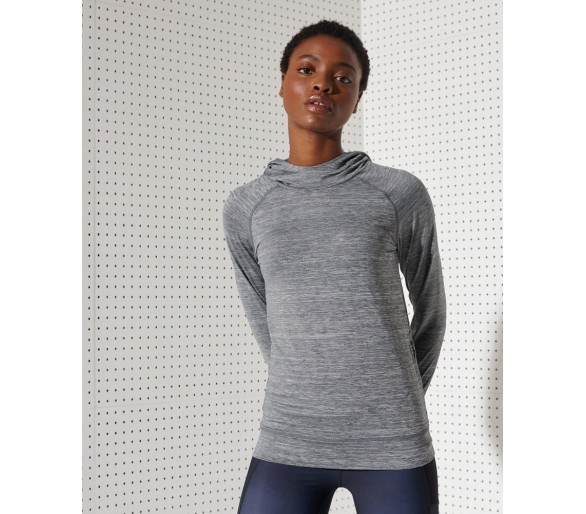 Women's Running Hooded Mid Layer - Superdry