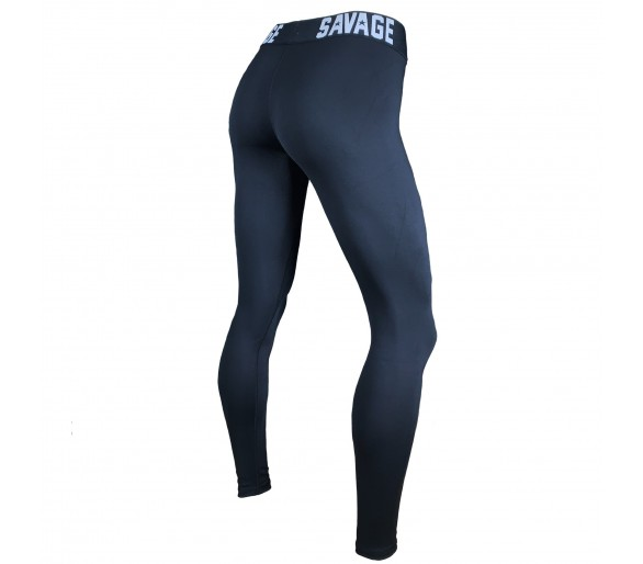Legging Waist-Band Ankle Lenght - Savage Barbell