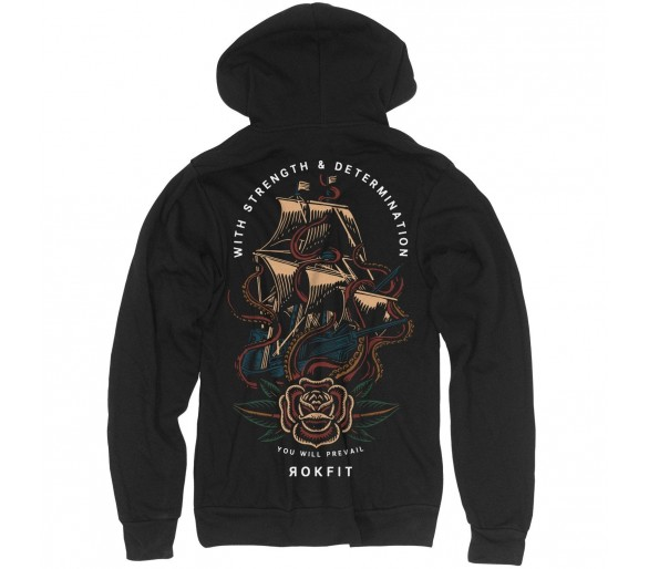 """Hoodie Unisexe """"You Will Prevail"""" - Rokfit"""