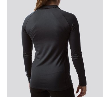 Women's Long Sleeve Zip Neck Athleisure - Born Primitive