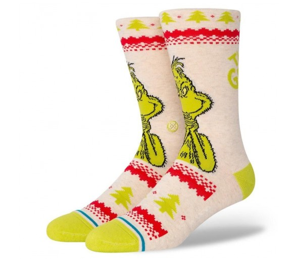 Chaussettes Grinch Sweater - Stance